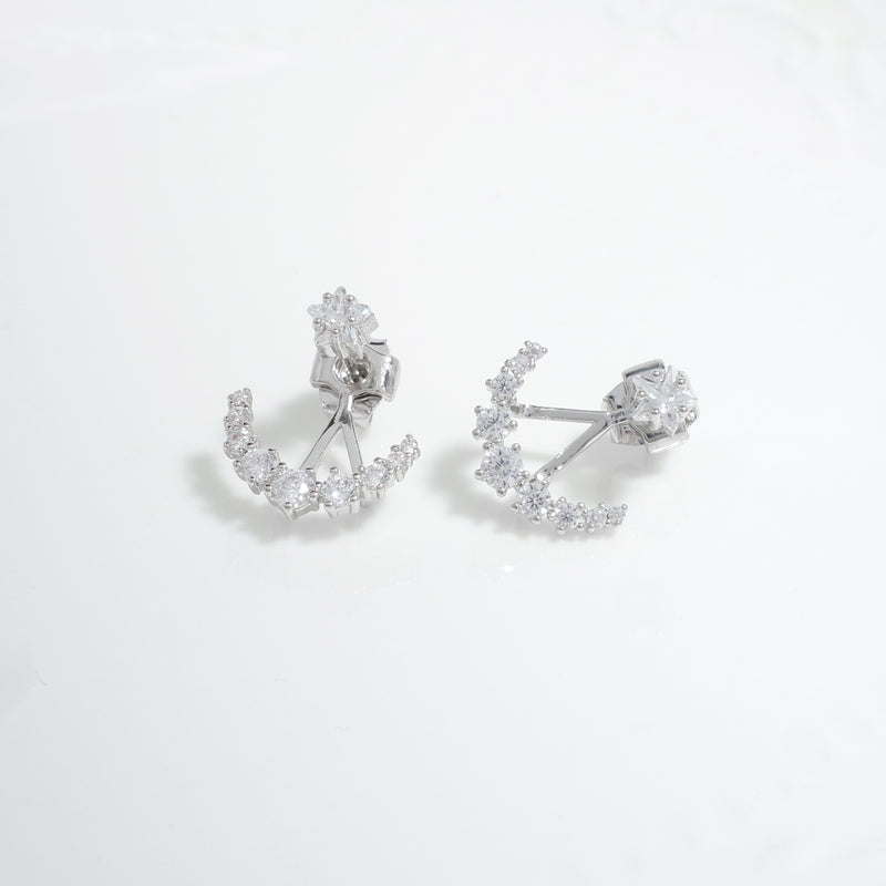 Star Shadows Earrings [CLOY Collection]
