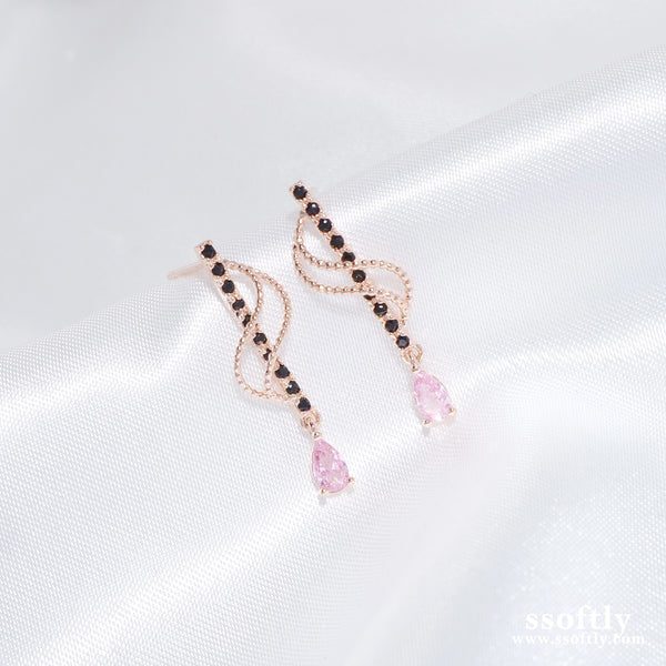 Raindrop Prelude Earrings [CLOY Collection]