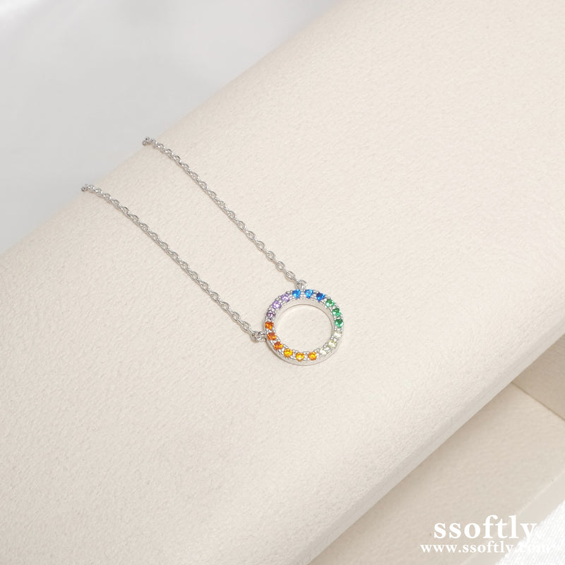 After The Rain Necklace [Rainbow Collection]