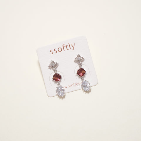 Ruby Holic Earrings [Her Private Life]