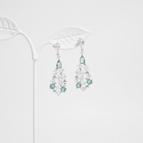 Turquoise Elegance Earrings [Her Private Life]