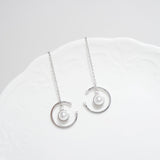 Pearl Moon Earrings [WWW]