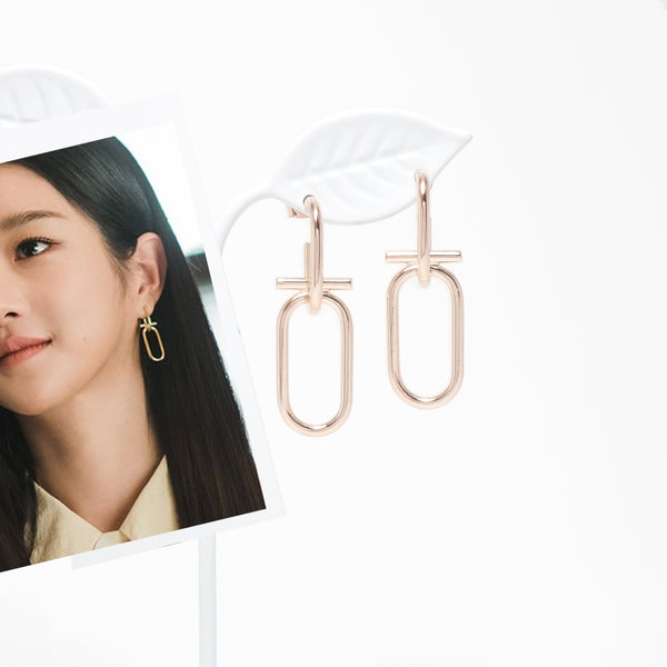Happy Ending Earrings [It's Ok To Not Be Ok]