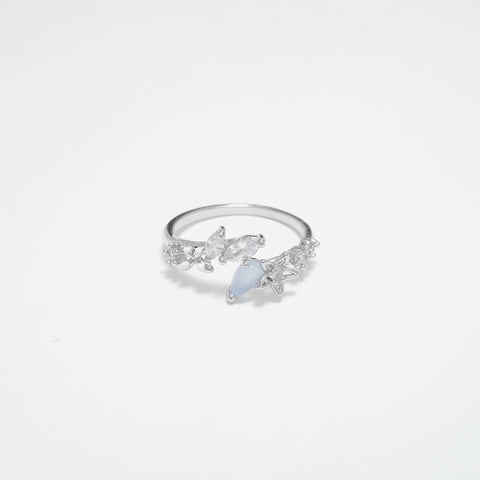 Floria love Ring In Silver