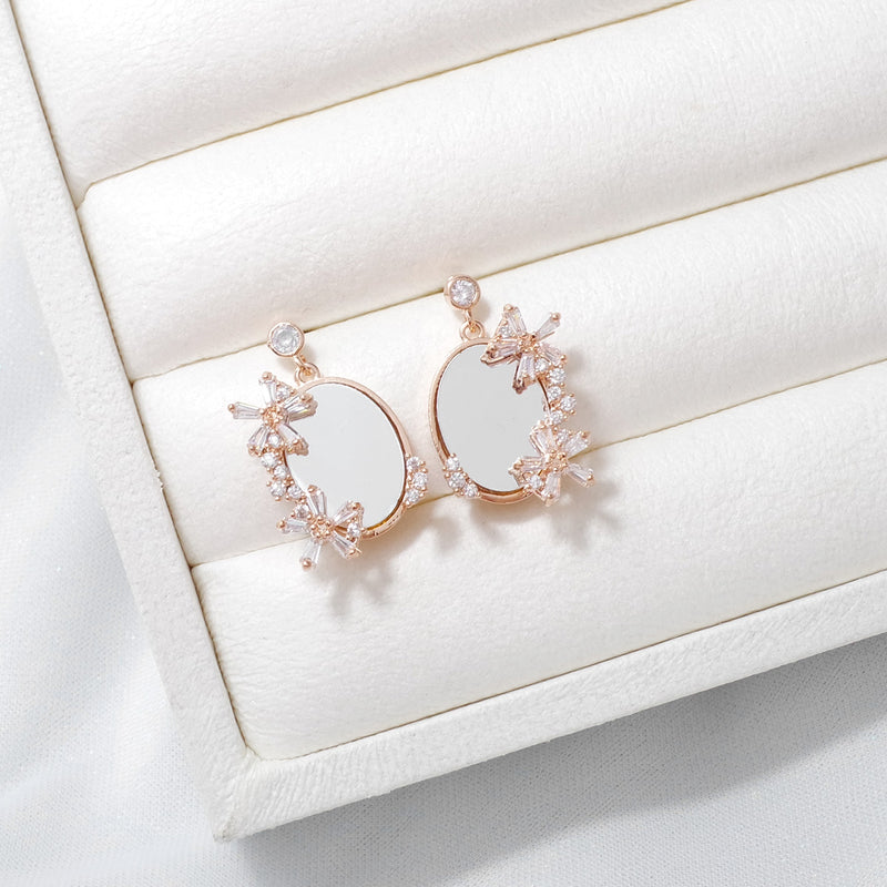 Mirror Mirror On The Wall Earrings [Two-two]