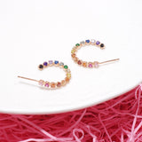 Rainbow Bridge Earrings  [Two-two]