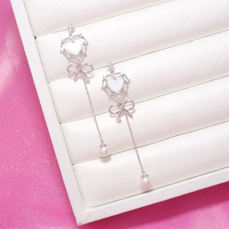 Heart Pondang Earrings [Two-two]