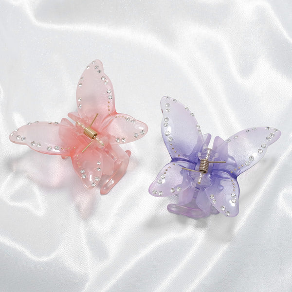Butterfly Wonderland Jewel Hair Clip