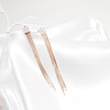 Lucy Long Chain Earrings  [Del Luna]