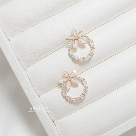 Sinensis Earrings [Two Two]