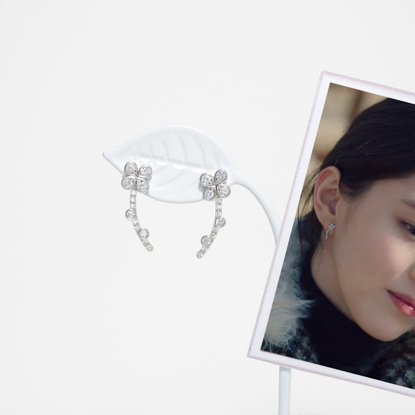 The Flower Language Earrings [The World Of Marriage]