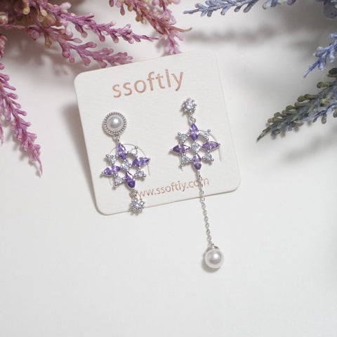 The First Snow Earrings [Winter Sonata]