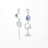 The Blue Night Earrings