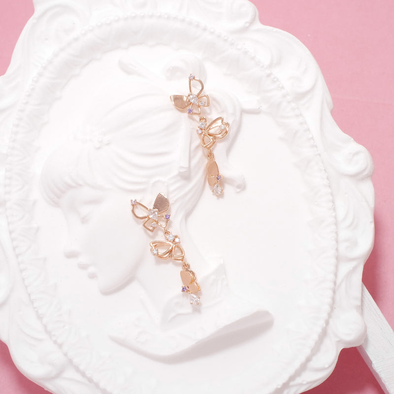 Memories In Full bloom Earrings [Two-two]