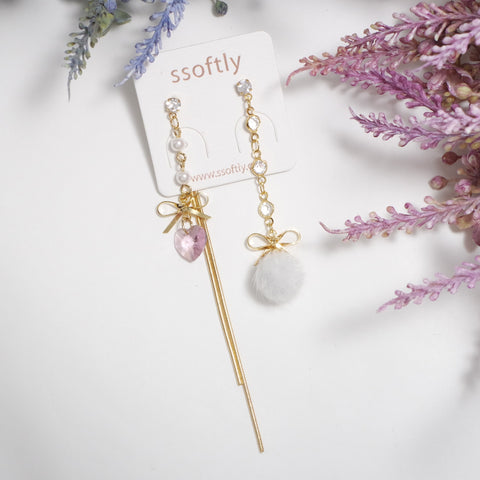 Winter Poem Earrings [Romantic Winter]