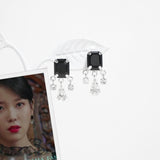 Black Mary Earrings [Del Luna]