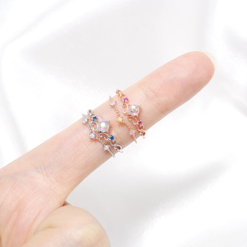 Mermaid's Tiara Ring