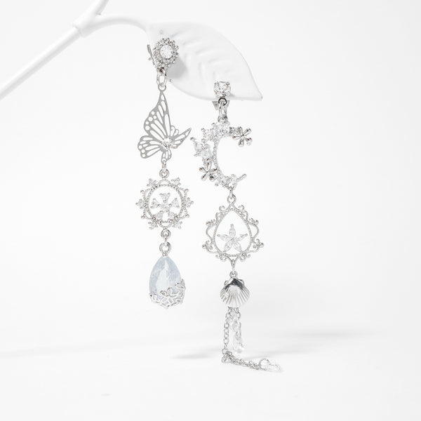Moonlight Sea Earrings