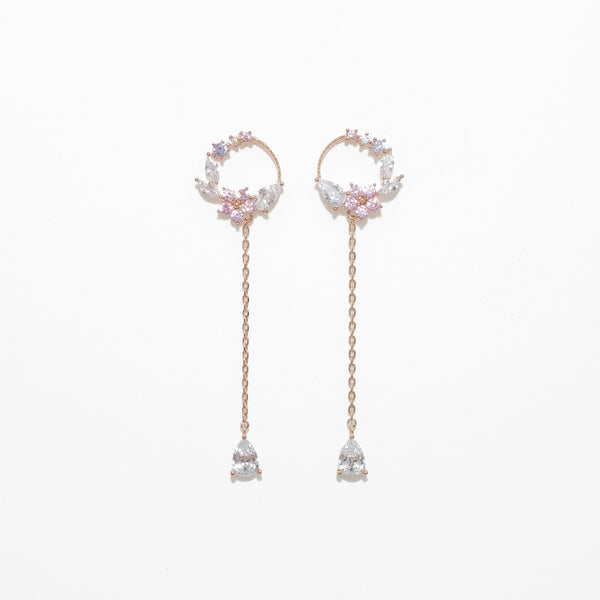 The Garden Of Cherry Blossom Earrings [Two-two]