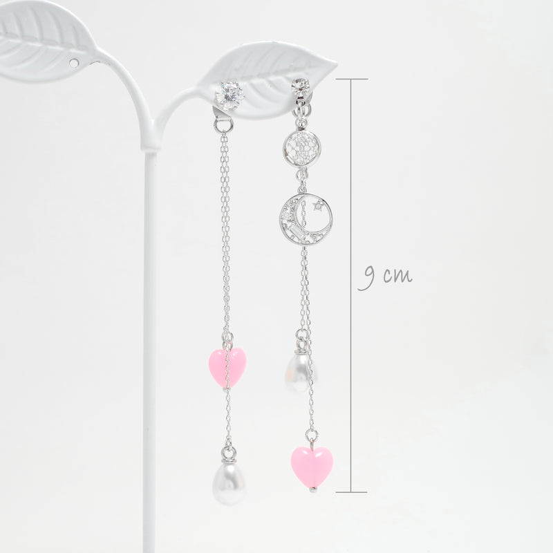 The Moon Lady Earrings [Fall In Love]