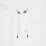 Avery Modern Flowers Earrings