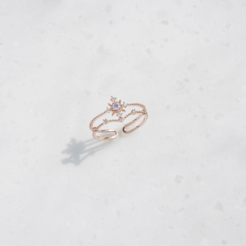 The Spring Sunshine Double Ring