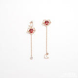 The Red Moon : To You My Light Earrings