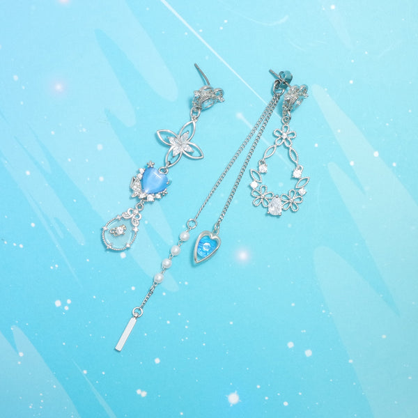 The Goddess Of The East Sea Earrings