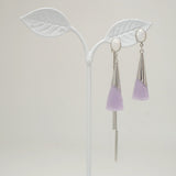 True Violet Earrings [Fly in the air]