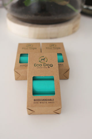 Benji + Moon | Biodegradable dog poop bags