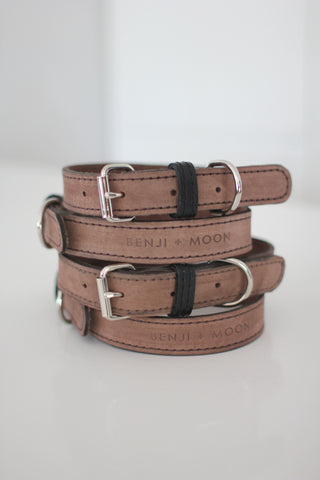 Benji + Moon | Hand-crafted leather collars Musk