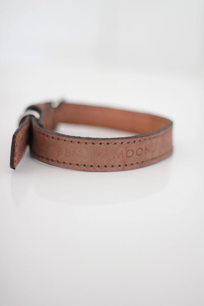 Benji + Moon Medium Leather Collar