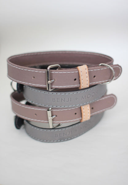 Limited Edition Pastel Leather Dog Collars