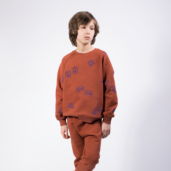 Home - Henna - Organic Sweater