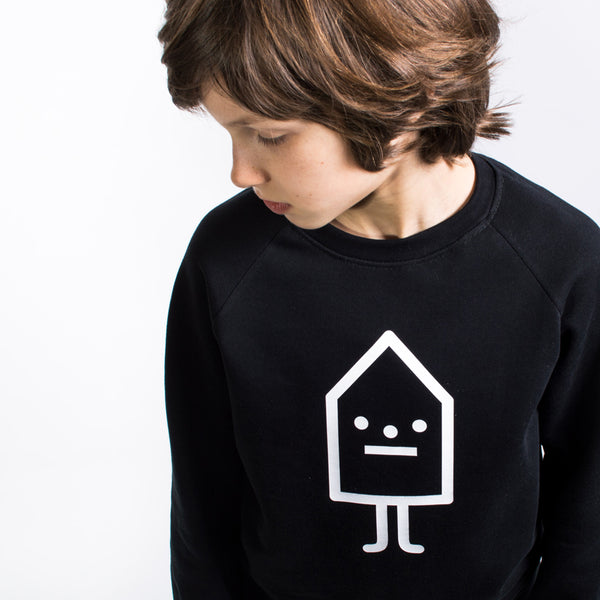 Logo Black - Organic Sweater