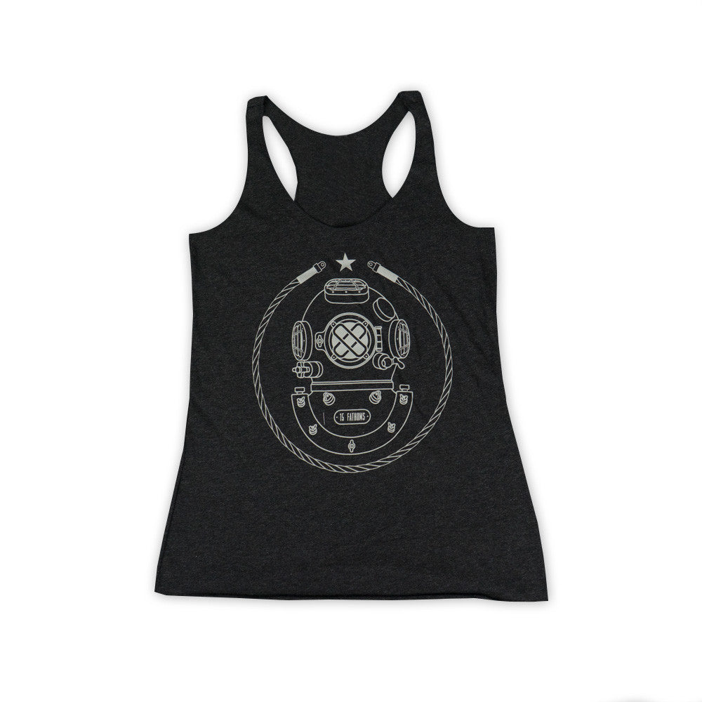 Women's Iconic MK-5 Racerback Tank Top - Black