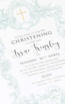 Christenings and Baptisms