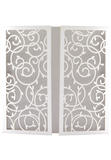 Enchanted Garden Invitation Folder - Silver