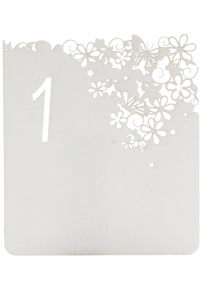 Flower Daydreams Table Numbers