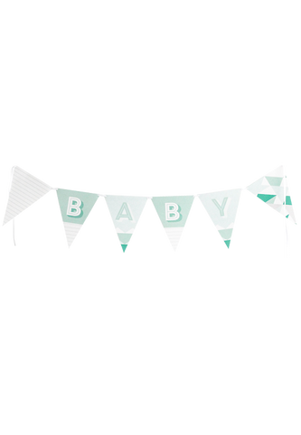 Geo Baby - Paper Bunting