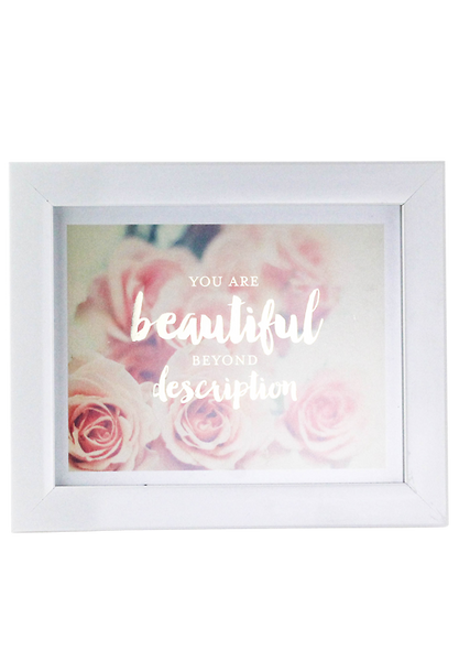 """You Are Beautiful"" Poster"