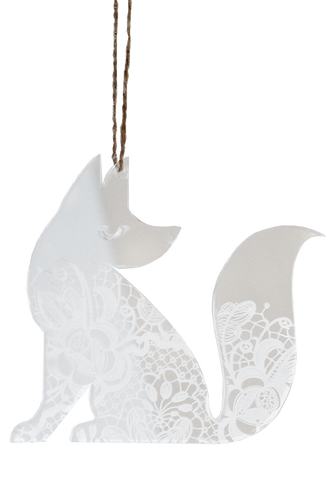 Lace Perspex Fox