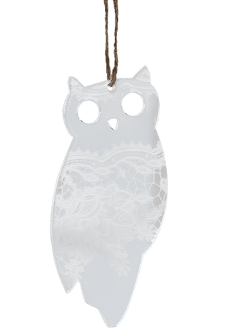 Lace Perspex Owl