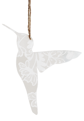 Lace Perspex Sugar Bird