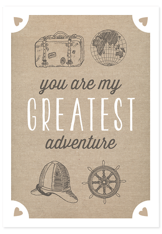 Greatest Adventure Explorer Edition - Unframed Poster