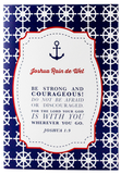 Sail Away Baby Blessings Book