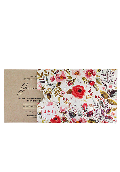 In Bloom Invitation