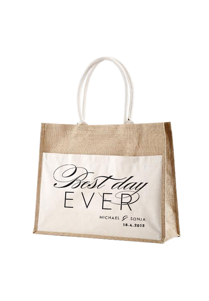 Best Day Ever Panama Bag