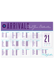 Arrivals Seating Chart Canvas
