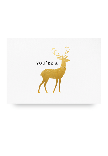 You're a Dear Letter Pressed Card